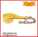 """2 de """" cinta amarela do guincho da catraca do anel X 27 ' Detal"""