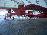 Hangar plano de los aviones de la puerta deslizante de la apertura completa de la tienda del estacionamiento (TSU-4530/TSU-4536)