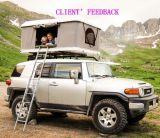 Gas-Holm-Fiberglas-hartes Shell-Auto-Dach-Oberseite-Zelt für Verkauf