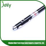 銀色のレーザーのペンのポインターの多機能のペンレーザーのペン