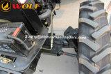 耕うん機のカルチィベーターが付いている農業機械のトラクター