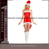 Hot Sale Sexy Women Christmas Party Costume Lingerie (TFQQ0964)