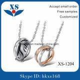 Tegenhanger de van uitstekende kwaliteit van de Ketting van de Halsband van het Roestvrij staal