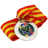 安のカスタムスポーツのサッカー広告メダル金属