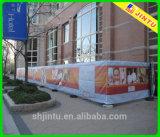 Bandera de encargo del cartel del vinilo de la impresión del chorro de tinta al aire libre de gran tamaño 2015