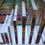 Le plastique a moulé la feuille élevée d'acrylique de transparence
