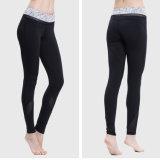 Polainas apretadas de encargo apretadas de la yoga de los pantalones de las mujeres atractivas
