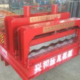 Glasig-glänzende Fliese-Dach-Blatt-Rolle, die Maschine für Metallgewölbtes Dach-Panel bildet