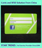 Cartão do St - cartão plástico do acesso do membro de clube