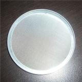 SS / acero al carbono / cobre / Negro de tela de alambre de discos de filtración para tratamiento de agua y aceite