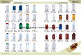 Großhandelsweiße Plastikflasche des haustier-500ml mit Metallschutzkappe