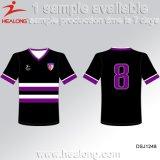 Kundenspezifischer Sublimation-umschaltbarer Fußball Jersey mit Qualität