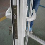 Kz039 de Witte Deur van de Gordijnstof van de Sjerp van het Aluminium van de Kleur Poeder Met een laag bedekte Dubbele