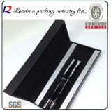 Pena de Ballpoint plástica plástica de papel de Derma da pena de ponto de esfera do metal de Vape da caixa de lápis (YS19N)