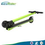 scooter électrique du poids léger 7kg de 350W 24V de fibre pliable de carbone
