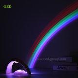 中国の製造者からの幸運な虹LEDのすばらしい虹プロジェクターランプ夜ライト