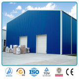 軽い鋼鉄組み立ての鉄骨構造の倉庫の構築