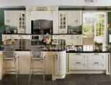 HOME de venda quente Furniture#236 do gabinete de cozinha da madeira contínua