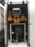 5 M3 5 CBM LPGのトラックトラック5000リットルのLPGディスペンサーの給油の