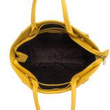 De hete het Verkopen Kleur van het Suikergoed Dame Genuine Leather Tote Handbag