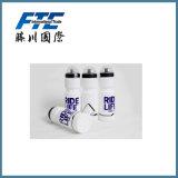 La botella plástica de encargo en material del HDPE con BPA libera en la botella de agua 750ml