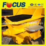 Bomba concreta de la calidad del acoplado agradable del motor eléctrico, bomba concreta portable 90kw