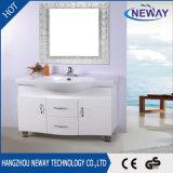 Новый пол - установленная ванная комната шкафа зеркала PVC