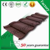HPS Lightweight Roofing Materials Telha plana de metal revestido de pedra