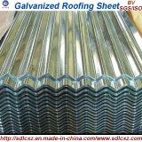 покрынные цветом гальванизированные листы толя стального листа 40-275G/M2/листы цинка Coated стальные