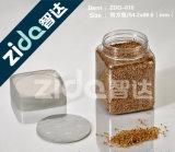 Frasco plástico do plástico do frasco do alimento da tampa vazia barata dos PP