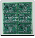 緑のSoldermask PCB HASLのボード