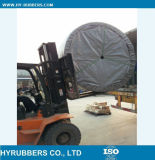 Transporte vertical u horizontal del cemento a prueba de calor de la banda transportadora de la tela