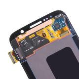 O móbil parte a tela de indicador do OEM LCD para a galáxia S6 de Samsung