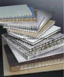 Façades en aluminium d'extérieur de panneaux de mur extérieur de Panles de nid d'abeilles