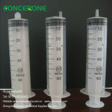Large 50ml 60cc Medical Luer Lock Luer Slip Syringe