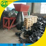Double défibreur lourd d'arbre pour les déchets médicaux/mitraille