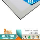 100lm/W 600*600m m 40W LED Panellight