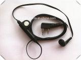 Écouteur d'Earbud pour la radio bi-directionnelle avec l'écouteur Earhook de qualité