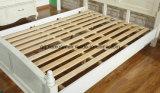 Camas matrimoniales modernas de la base de madera sólida (M-X2266)
