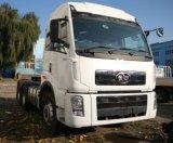 트랙터를 견인하는 아주 새로운 FAW 대형 트럭, 이디오피아 트럭