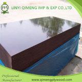 Высокая водоустойчивая пленка качества смотрела на переклейку с чернотой и цветом Brown