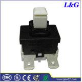 Interruptor de botón encendido-apagado de Dpst del empuje de la energía 16A 250VAC (MPS21)