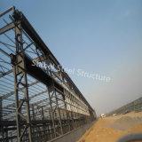 Material de construção da construção de aço de Prefabric para construir a fábrica de tratamento