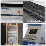 Máquina de estaca barata do laser da fibra 500With1000W3000W para o preço inoxidável/metal do carbono de aço/
