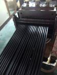 Máquina do laser da fibra de 20 watts para materiais plásticos da marcação