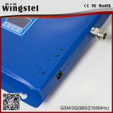 UMTS 3G 2G GSM / WCDMA 900 / 2100MHz de China Fuerte Booster de señal para teléfonos móviles