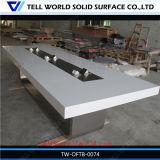 Tableau de conférence exquis réparable de marbre de Tableau de salle de réunion de conférence de bureau