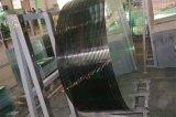 Vidro temperado Polished de canto do vidro Tempered do flutuador do espaço livre da borda do raio