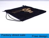 Sacchetto promozionale del regalo del Drawstring del nylon 190t 210d del poliestere dello zaino del sacchetto