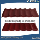 Плитка металлического листа крыши цвета высокого качества в низкой цене